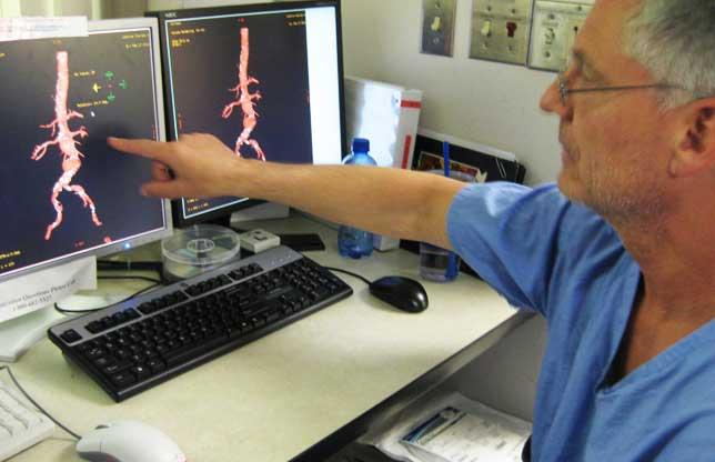 диагностика аорты сердца