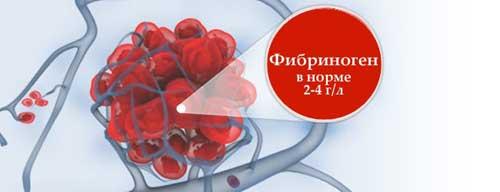 нормы фибриногена