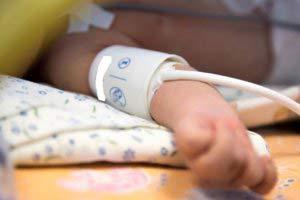 измерение АД у новорожденного