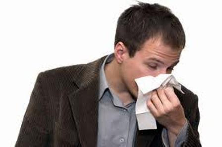 теч крови из носа
