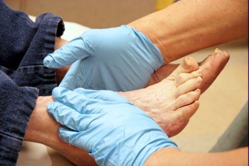 проверка ног